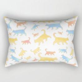 Watercolor Cats - Cats Everywhere! Rectangular Pillow