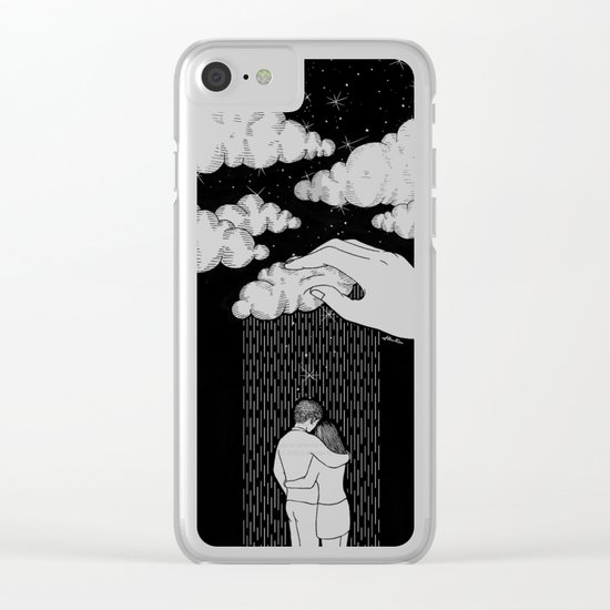 Bless You Clear iPhone Case