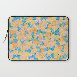 Pastel Floral Laptop Sleeve