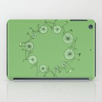 cycle iPad Cases featuring Cycle by Anita Ivancenko