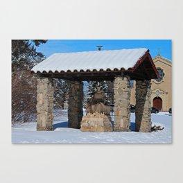 Lourdes V Canvas Print
