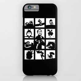 Tribute to Miyazaki iPhone Case