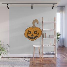Halloween Jack-O-Lantern Cartoon Wall Mural