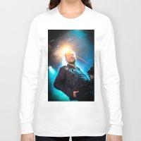 gorillaz Long Sleeve T-shirts featuring Damon Albarn (Blur) - II by Tomás Correa Arce (RockMe TommyBoy)