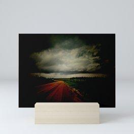 Dark Empty Road Mini Art Print