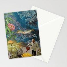 Sea Garden Stationery Cards