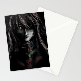 Asuka Langley Soryu Digital Painting Rebuild of Evangelion 3.0 Character Poster Stationery Cards