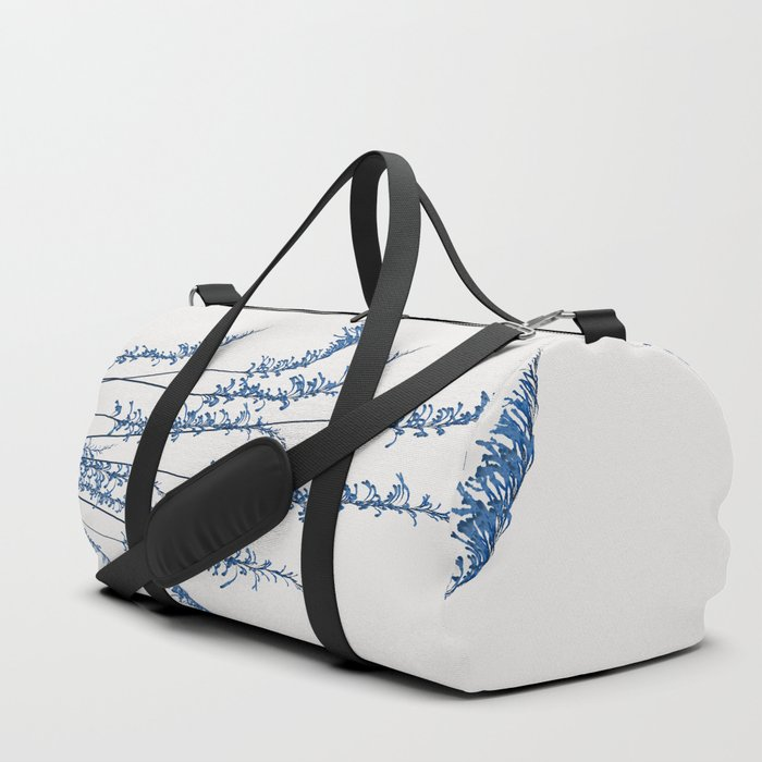 Blue flowers 2 Duffle Bag