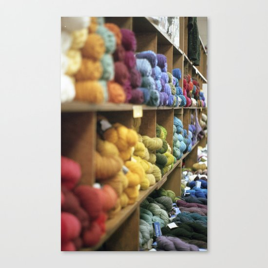 Yarn Barn Canvas Print