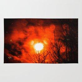 Burning Moon Rug