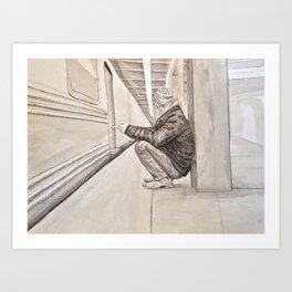 The MBTA Experience Art Print