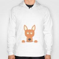 pocket Hoodies featuring Pocket Kangaroo by filiskun
