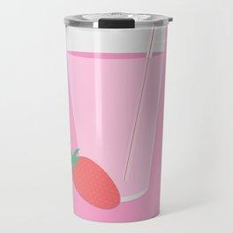 Strawberry Milk Travel Mug