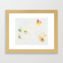 Something emerges Framed Art Print