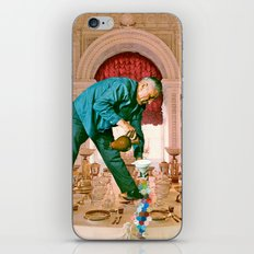 Table Manners iPhone & iPod Skin