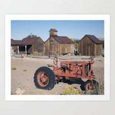Farm Equipment Art Print