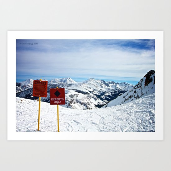 Experts Only Art Print