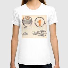 eye's anathomy T-shirt