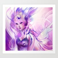 pride Art Prints featuring Pride by Lappisch