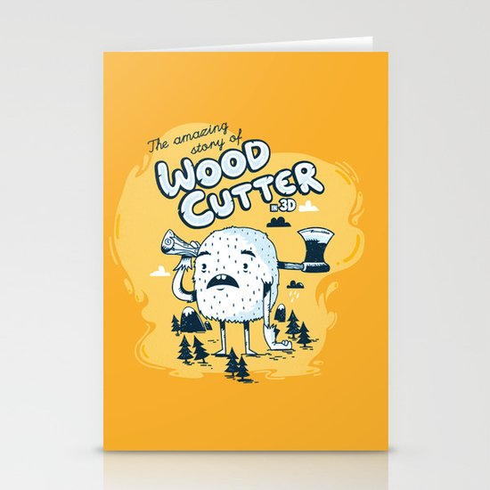The WoodCutter Stationery Cards