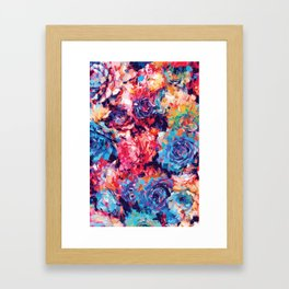 Fiona Floral Framed Art Print