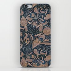 Carved Floral Pattern iPhone & iPod Skin