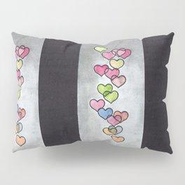 Periscope Hearts Pillow Sham
