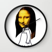 simpson Wall Clocks featuring lisa simpson by sharon