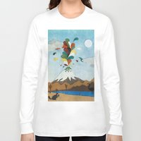 chile Long Sleeve T-shirts featuring Norte de Chile by i am nito