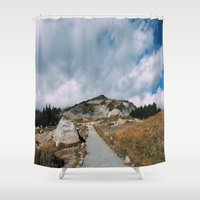 skyline Shower Curtains featuring Skyline by Andrew Rincon