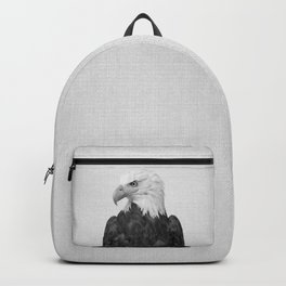 Eagle - Black & White Backpack
