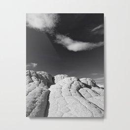 The Brain Rocks Metal Print