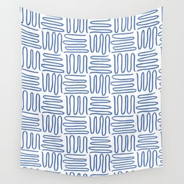 Squiggle Pattern Wall Tapestry