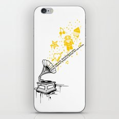 Music Maker iPhone & iPod Skin