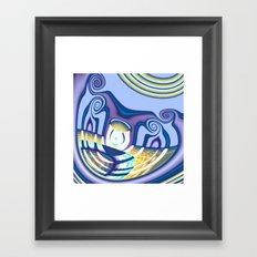 Cyclop's Grin Framed Art Print