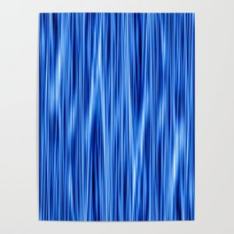 Ambient #8 in electric blue Poster