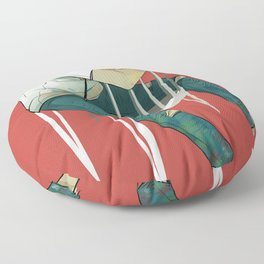 Painter Floor Pillow