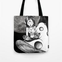 fairy tail Tote Bags featuring Fairy Tail by creep