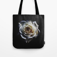 WHITE - ROSE - NATURE Tote Bag