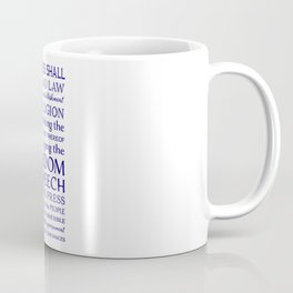 Defend Your Freedom of Speech Coffee Mug