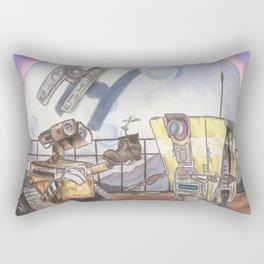 WALL-E & CL4P-TP Rectangular Pillow