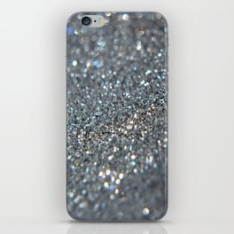 Silver Dust iPhone Skin