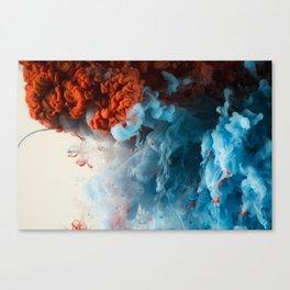 Collision II Canvas Print