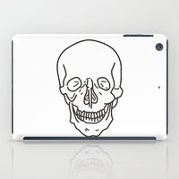 skeleton iPad Cases featuring Skeleton by FACTORIE
