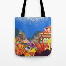 The Coral Reef That Once Was... Tote Bag