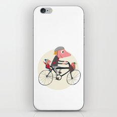 Biker Daddy iPhone Skin