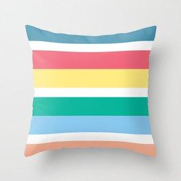 Bondi Stripe Throw Pillow