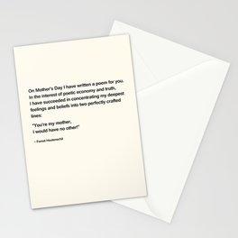 Mothers Day V Stationery Cards