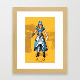 Alice's Creed Framed Art Print