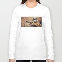 "blondie Long Sleeve T-shirts featuring ""Blondie""  by Mark Matlock"